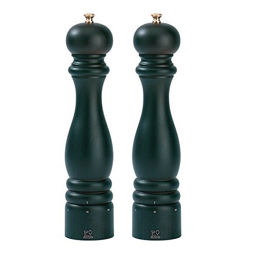 Peugeot Paris U'Select 12-Inch Pepper & Salt Mill Set, Chocolate - Peugeot Paris Classic Chocolate