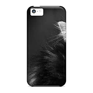 Premium Kitten Bw Animals Back Covers Snap On Cases For Iphone 5c