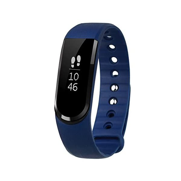 Fitness Tracker, Letscom IP67 Waterproof Activity Tracker with Step  Tracker/ Sleep Monitor /Message Notification Fitness Wristband Watch,  Bluetooth