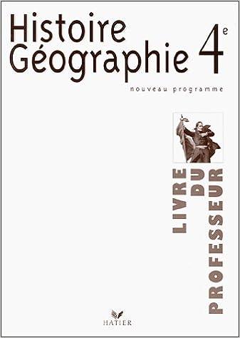 Telecharger Le Fichier Pdf De L Ebook Histoire Geographie