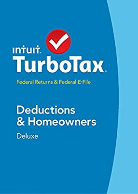 TurboTax Deluxe Fed + Efile