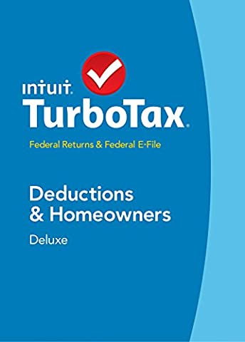 TurboTax Deluxe 2014 Fed + Fed Efile Tax Software [Download] OLD VERSION (Business Taxes Software)