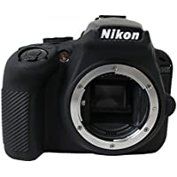 Protective Silicone Gel Rubber Soft Camera Case Cover Bag For Nikon D3400 Camera Black
