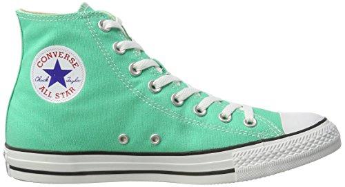 Converse 155565C, Zapatillas Altas Hombre Verde (Menta)