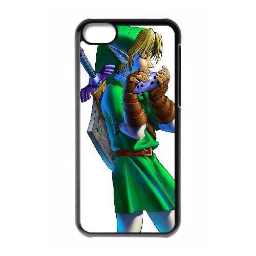 R6F75 The Legend of Zelda UZ2SS coque iPhone 5c cellulaire cas de téléphone couvercle coque noire IK2CAJ2OV