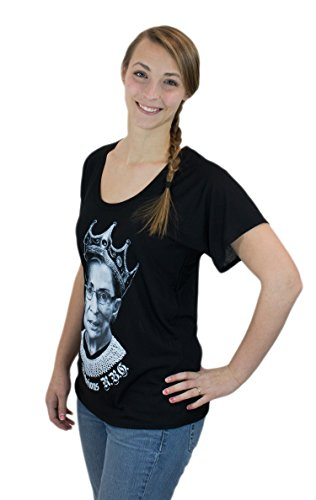 NOTORIOUS R.B.G. Progressive Liberal Ruther Bader Ginsburg Flowy Ladies' T-shirt