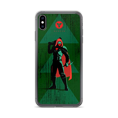 iPhone Xs Max Case Anti-Scratch Japanese Comic Transparent Cases Cover Hunter D2 Anime & Manga Graphic Novels Crystal -