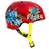 Sector 9 Aloha CPSC Bucket Helmet, Red, Small/Medium