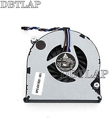 DBTLAP Ventilador de la CPU del ordenador portátil para HP 4535S 4530S 8460P 4730S 8450p 8470W 8470P 6475b 6460b 8460p 8460w 6465b 6460b 646285-001 ...