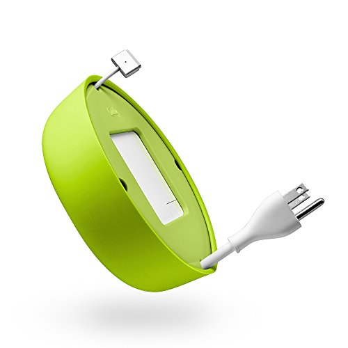 - Quirky Powercurl V2 POP 45W Wire Organizer, Green (PPRCP-45GN)