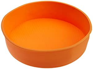Casabella Silicone 8-1/2-Inch by 4-Inch Bread Loaf Pan