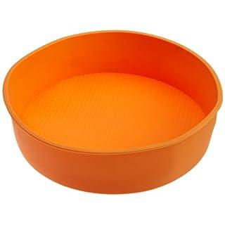 "Casabella Silicone 9"" x 2.25"" Round Cake Pan"