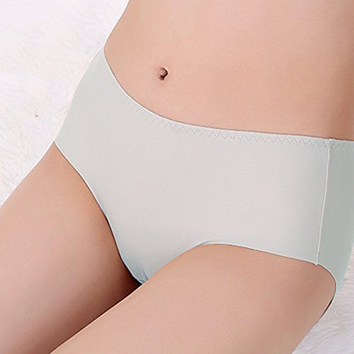 En La Cintura Sexy Cotton Crotch One Piece Of Seamless Skirt Pantalones (5 Cargado) ( Color : D , Tamaño : L ) A