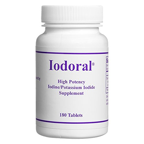 Optimox - Iodoral, High Potency Iodine Potassium Iodide Thyroid Support Supplement, 180 ()
