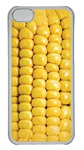 Corn on the Cob Polycarbonate Hard Case Cover for iPhone 5C Transparent