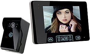 Safebao® 2,4GHz 7 Digital Funk Video Türsprechanlage Sicherheit Türklingel,...