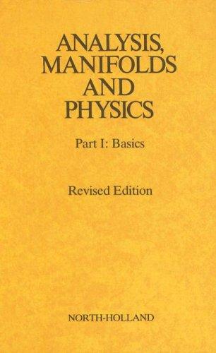 Basic Manifold (Analysis, Manifolds and Physics, Part 1:)
