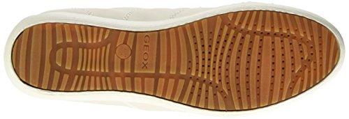 Geox D Myria A - Zapatillas de deporte Mujer Blanco (Off Whitec1002)