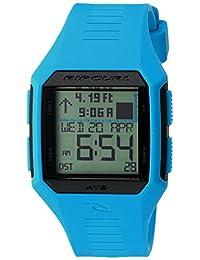 Rip Curl Men's 'Rifles Midsize Tide' Quartz Plastic and Polyurethane Sport Watch, Color:Blue (Model: A1124-BLU)