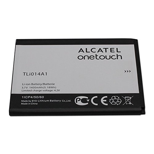 Oem Retail Package - Alcatel Battery TLi014A1 3.7V 1400mAh for Alcatel ONETOUCH Glory 2, Inspire 2, M POP - 100% OEM - in Non-Retail Package