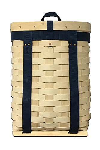 (AuSable® Brand Trappers Hardwood Veneer Pack Basket 20