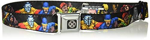 Buckle-Down Seatbelt Belt X-Men Kids, Character Action Poses, 1.0