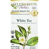 Celebration Herbals White Tea Organic 24 Tea Bag, 35Gm