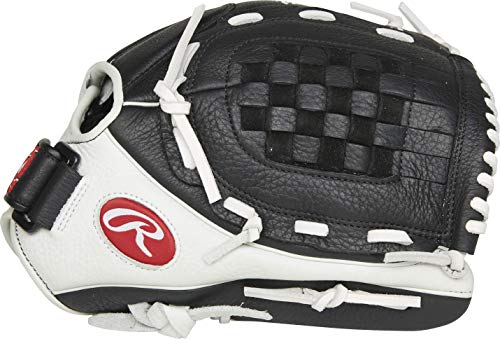 Rawlings Shut Out Series Fastpitch Softball Glove, Basket Web, 12 inch, Right Hand Throw