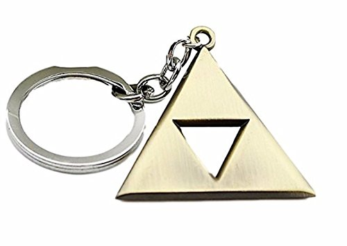 Legend Of Zelda Skyward Sword Costume (The Legend of Zelda Skyward Sword Triangle Logo Metall Keychain Key Pendant)
