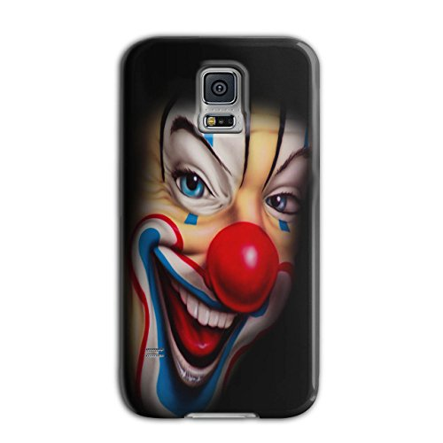 Creepy Evil Clown Smile Freak NEW Black 3D Samsung Galaxy S5 Case | Wellcoda (Creepy Clowns Pictures)