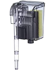 EA Performance Hang-On The Back Power Filter - Up to 4 Gallons - for Desktop and Betta Aquariums