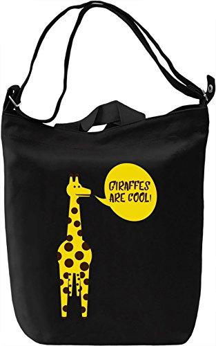 Giraffes Are Cool Borsa Giornaliera Canvas Canvas Day Bag| 100% Premium Cotton Canvas| DTG Printing|