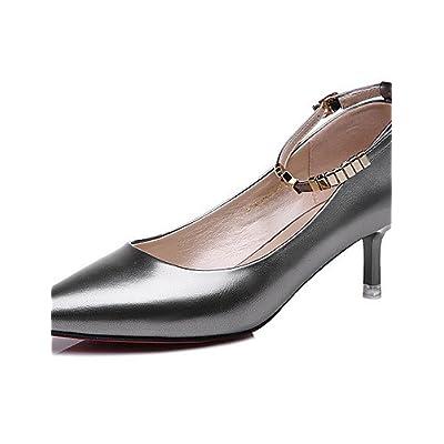 Ggx femmes Cuir verni Chaussures Printemps été automne hiver talons Bureau   adcf480480bc