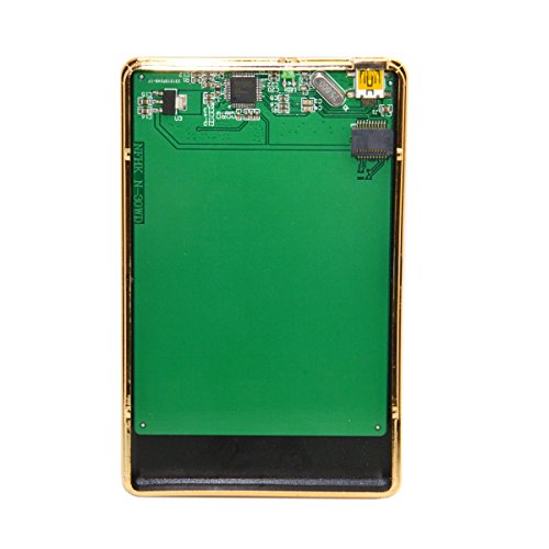 JSER WD5000MPCK SFF-8784 SATA Express to USB 3.0 Hard Disk Case Enclosure for UltraSlim Hard Disk SSD WD5000M22K WD5000M21K