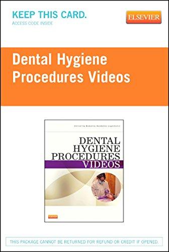Dental Hygiene Procedures Videos - Access Code, 1e by Saunders