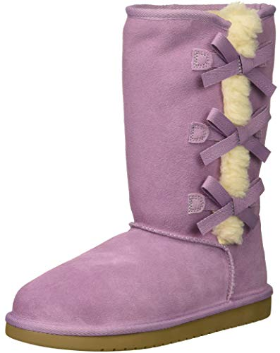 Koolaburra by UGG Unisex K Victoria Tall Fashion Boot, Lavender Mist, 05 Medium US Big Kid