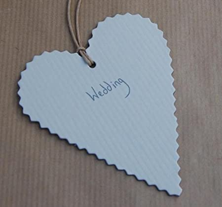 East Of India Heart Wedding Gift Tags X 10 Tags Amazon