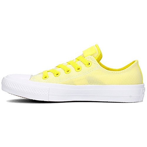 Converse Chuck Taylor All Star II Ox - 155432C - Couleur: Jaune - Pointure: 38.0