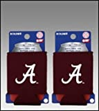 SET OF 2 ALABAMA CRIMSON TIDE CAN KADDY KOOZIES 'A' Review