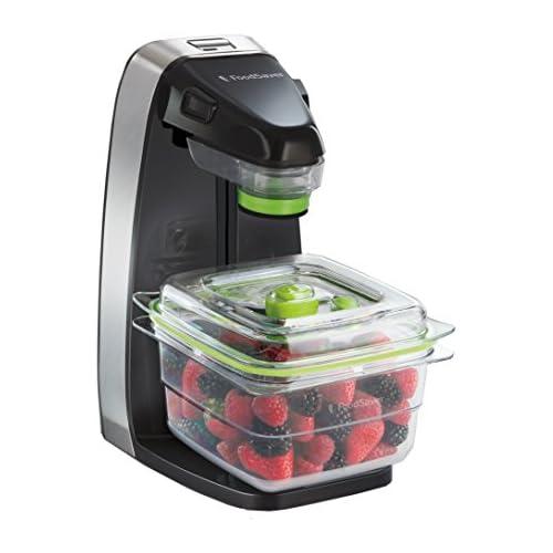 chollos oferta descuentos barato FoodSaver Fresh Appliance Envasadora al vacío 25 W Acero Inoxidable Negro