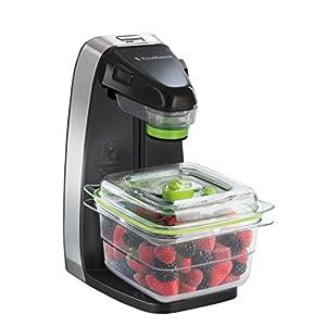 FoodSaver FFS010X Macchina per Sottovuoto Alimenti Salva Freschezza, 5 Sacchetti con Zip per Sottovuoto Riapribili… 5