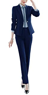 LISUEYNE Damen EIN Knopf Anzug Smart Blazer&HoseRock