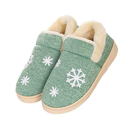 Intérieur Femmes Pantoufles Slip Coton Couple Confortable Garder d'hiver Chaussures Au Maison Chaud Pantoufles Detectoy Automne Hommes Anti Doux Amoureux wSZq8PO