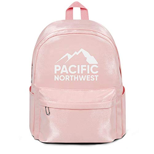 Unisex School Backpack Pacific Northwest Oregon Girls Student School Bookbag Individuality For Men Women Student Travel Outdoor Backpack