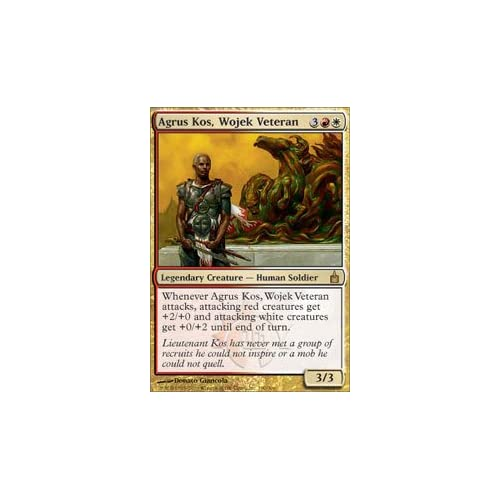 Magic: the Gathering - Agrus Kos, Wojek Veteran - Ravnica - Foil