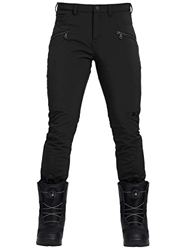 Burton Women's Ivy Under Boot Snow Pants (True Black, Medium (8-10))