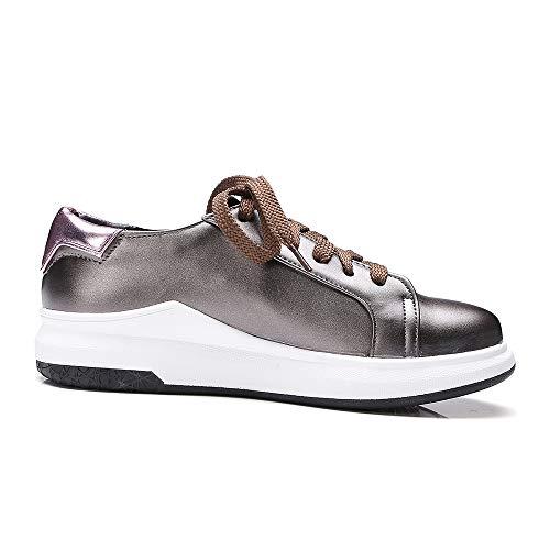 Sneaker Up Lace Mujer Zanpa Mode gunmetal 1 6qwTEBHE