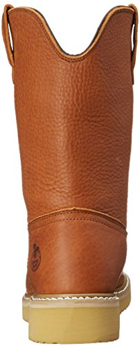 Georgia Boot Men's 12'' Wedge Wellington Work Boot,Barracuda Gold,8.5 W by Georgia (Image #2)