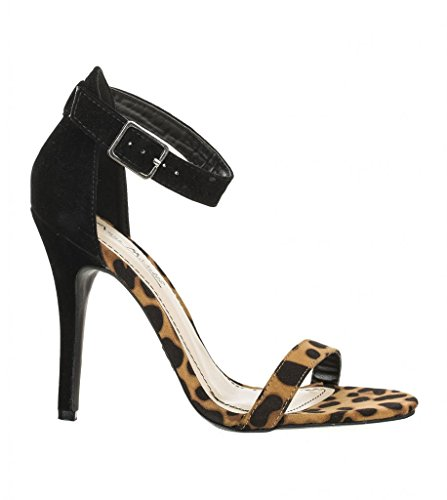 01N Leopard Anne Michelle Pumps Womens Michelle Enzo Anne Shoes qzFzw1xX