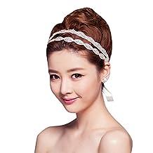 YingUs Sweet Women Girls Handmade Beaded Diamond Hairband Headband